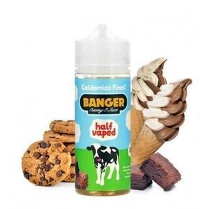 Banger Creamy E-Juice HALF VAPED by Banger