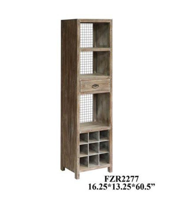 Crestview Desoto Wine Cabinet