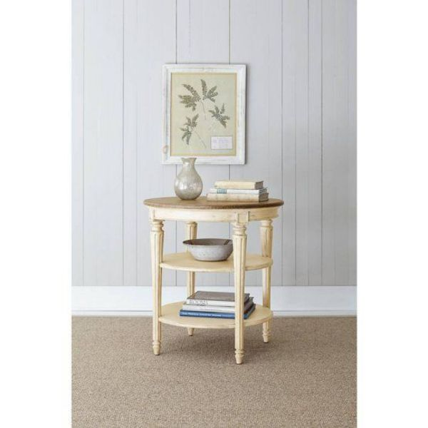 Stanley European Cottage Round End Table