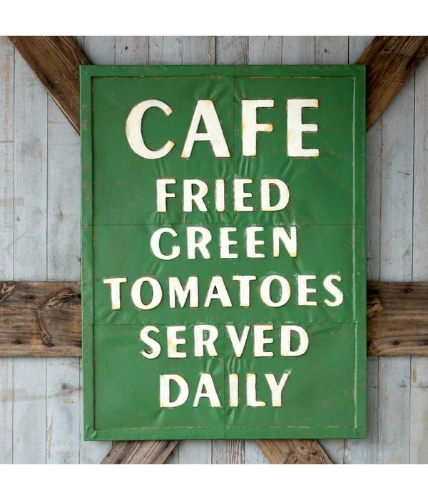 Park Hill Metal Fried Green Tomato Sign