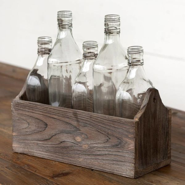 Petite Boxed Bottle Centerpiece