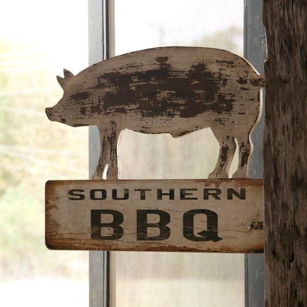 Southern BBQ Sign ET3252