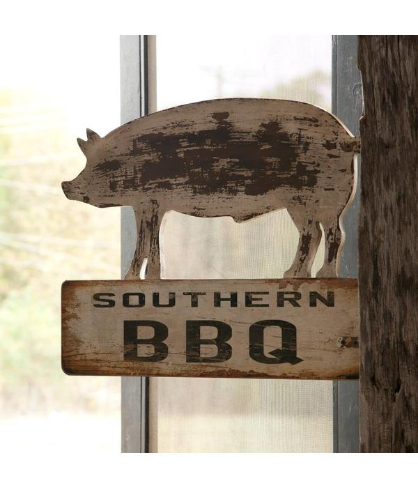 Park Hill Southern BBQ Sign ET3252