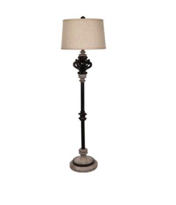 Crestview La Cour Floor Lamp