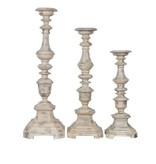 Crestview Addison Candle Holders Set of 3
