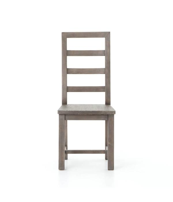 Four Hands Four Hands Post and Rail Dining Chair in Sundried Ash