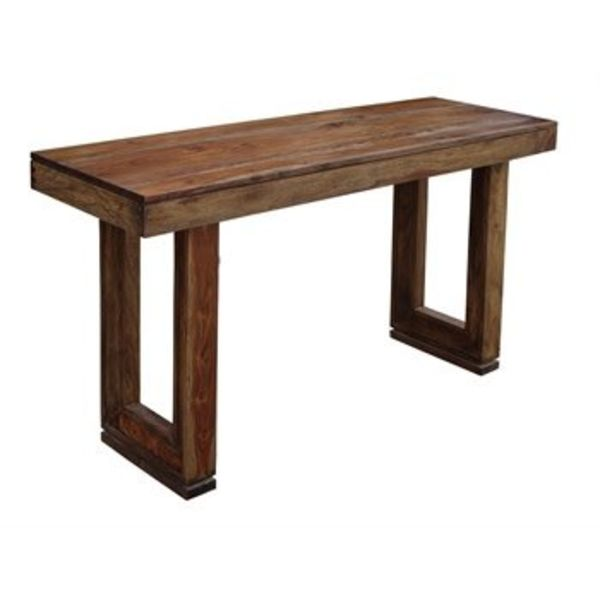 Brownstone Nut Brown Console Table 98239