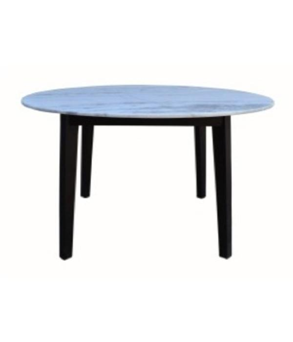 Pink City Industries Marble Top Round Dining Table Mango DBO