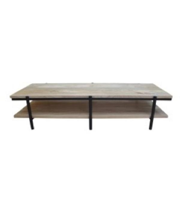 Pink City Industries Coffee Table Mango Natural Black