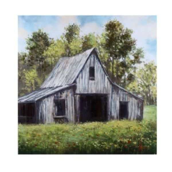 Country Scene Hand Painted Canvas CVTOP2260