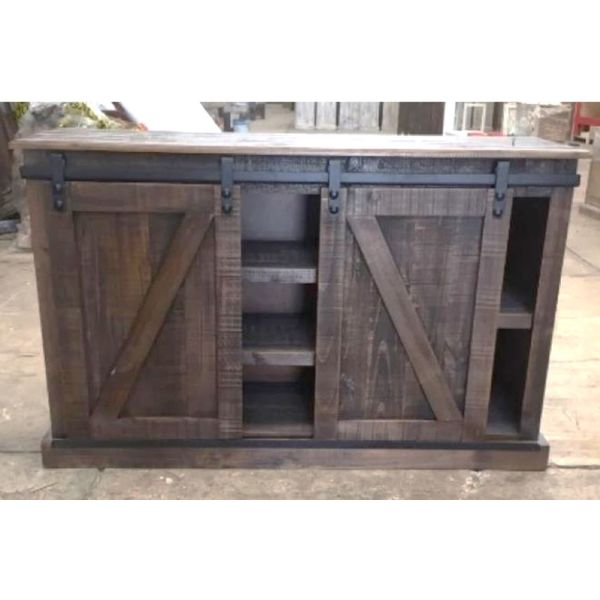 Farmhouse Antonio Console With Sliding Doors (A)