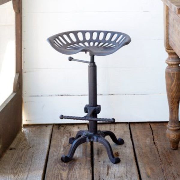 Tractor Seat Stool (Adjustable) SHX012