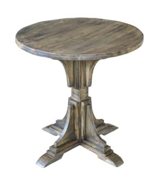 Crestview Bengal Manor Mango Wood Accent Table CVFNR319