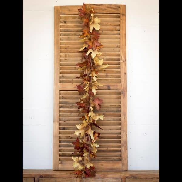 Crafted Autumn Leaves Garland XG1209