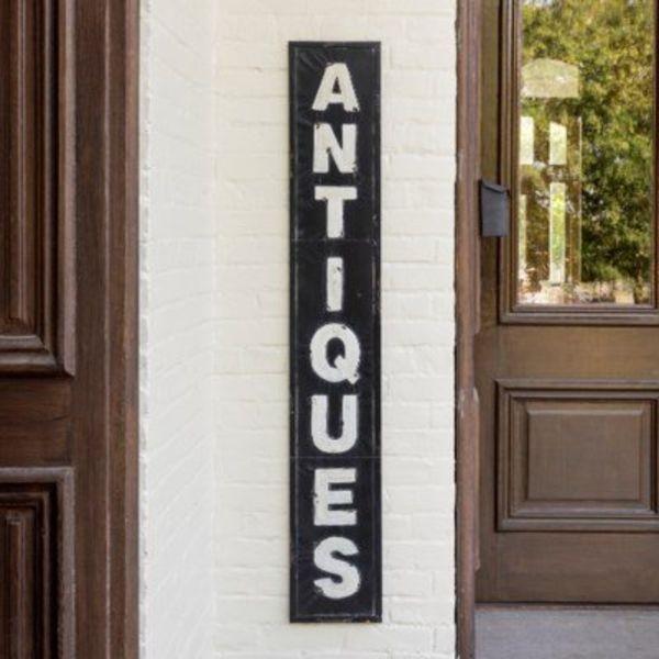 Metal Antique Signage