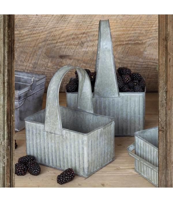 Park Hill Metal Berry Baskets Set of 2