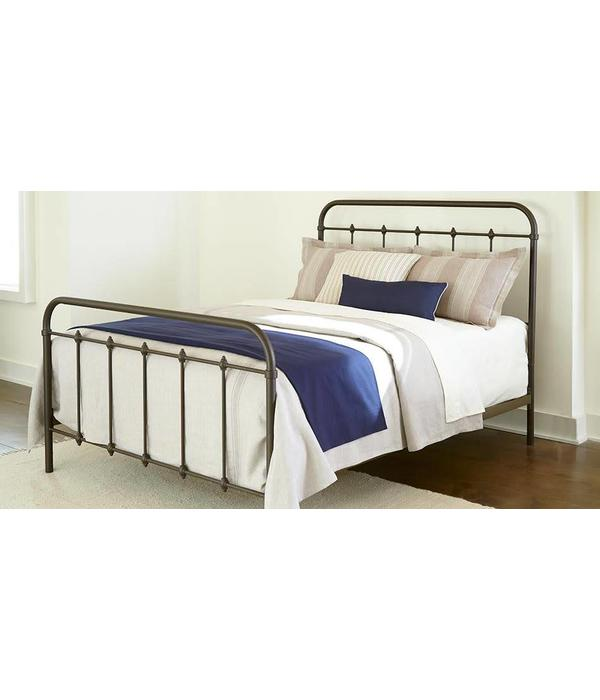 Kith Furniture Jourdan Creek Metal Bed in Bronze Finish
