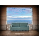 Mayo Custom Upholstery Mayo Transitional Sofa Basic Value Fabric