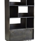 Coast to Coast Bookcase 79731 Mylom Smokey Gray