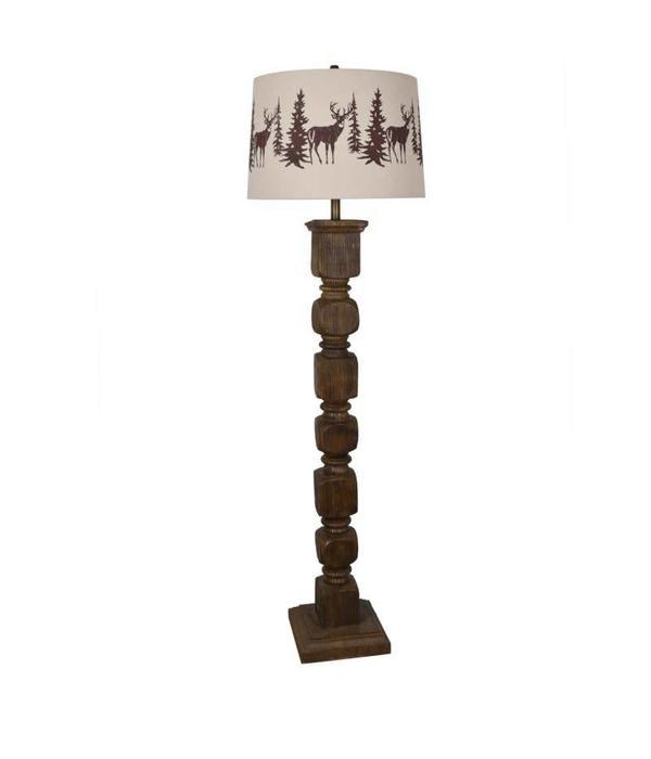Crestview Hunt Floor Lamp CVAVP619