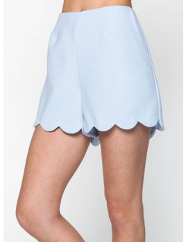 Scalloped Short 3391