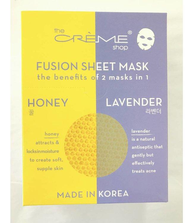 Honey/Lavender Sheet Mask