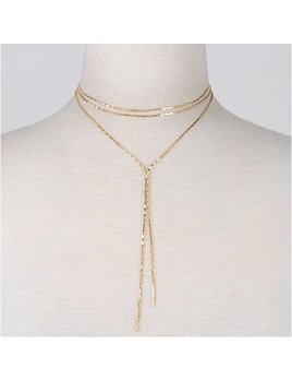 Wavy Layered Necklace 0312