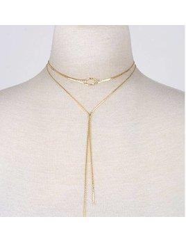 Knot Choker Necklace 0473