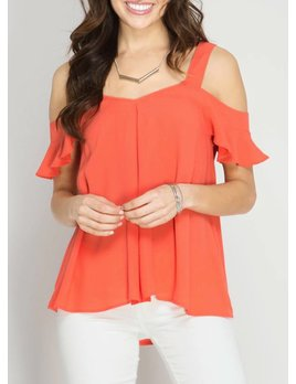 Cold Shoulder Top 3995