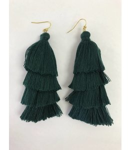 Dillworth Road Tiered Tassel Earring 1544