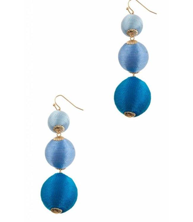 Triple Threaded Earrings 78E2226