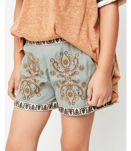 Embroidered Shorts 3769