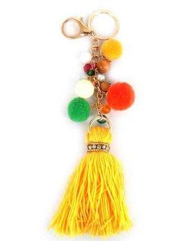 Pom Pom Tassel Key Chain 349