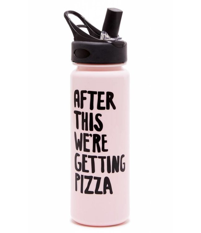 After This...Pizza Water Bottle