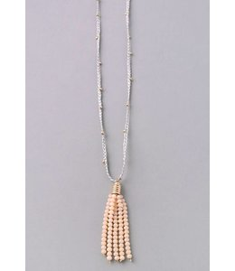 Fame Tassel String Necklace 6282