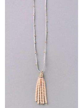Tassel String Necklace 6282