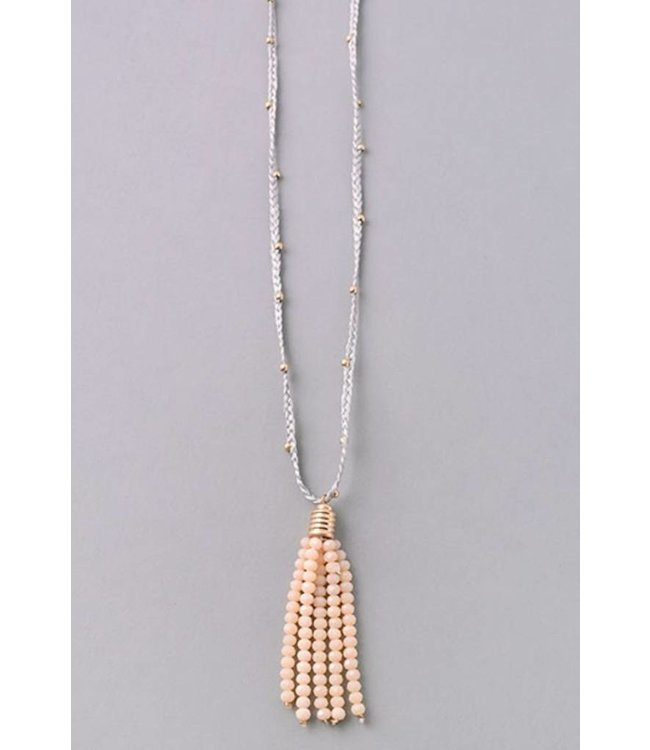 Tassel String Necklace 6282
