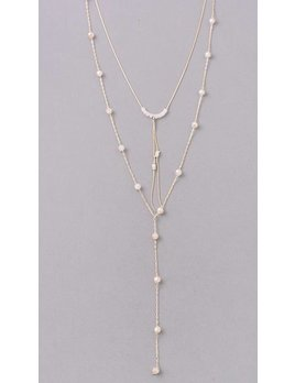 Layered Bead Necklace 0486