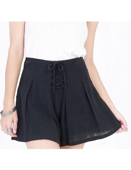 Lace Up Shorts 17F066