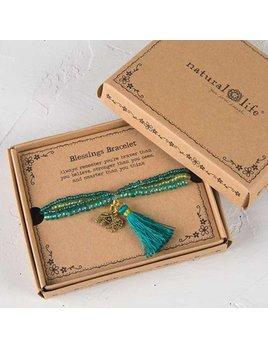 Natural Life Blessings Bracelet 166 - Elephant