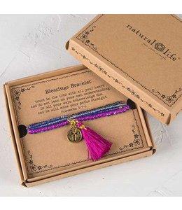 Blessings Bracelet 168 - Gold Cross