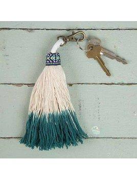 Natural Life Tassel Key Chain 095
