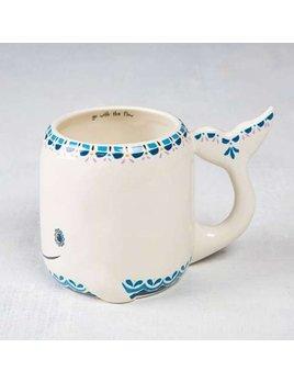 Natural Life Whale Mug 243