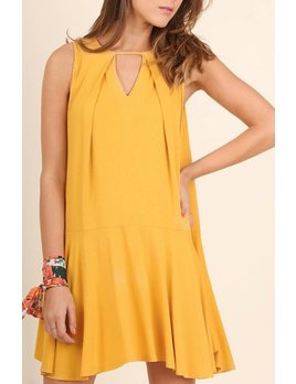 Keyhole Swing Dress 0334