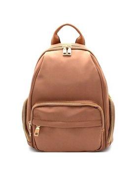 Nylon Zippered Backpack 87282
