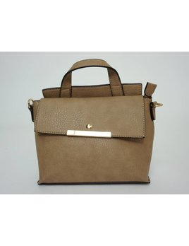 Crossbody Bag 1316 - Taupe