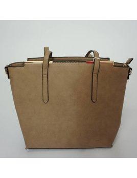 Handbag 1316 - Taupe