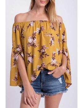 Off The Shoulder Floral 71497