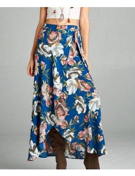 Wrap Maxi Skirt 002