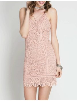 Lace Cami Dress 4607